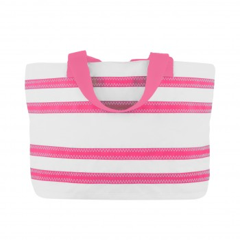 Cabana Stripe Tote - Medium