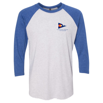 CSC - Next Level - Unisex Tri-Blend Three-Quarter Sleeve Baseball Raglan Tee