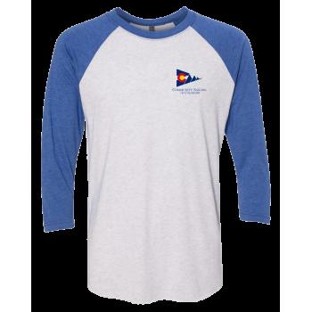 CSC - Next Level - Unisex Tri-Blend Three-Quarter Sleeve Baseball Raglan Tee