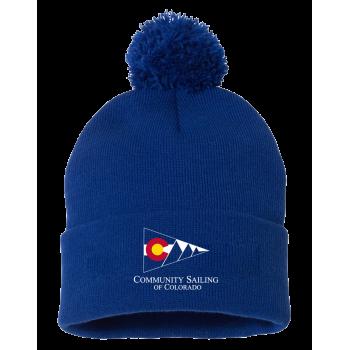 """CSC - Sportsman - Pom-Pom 12"""" Knit Beanie"""