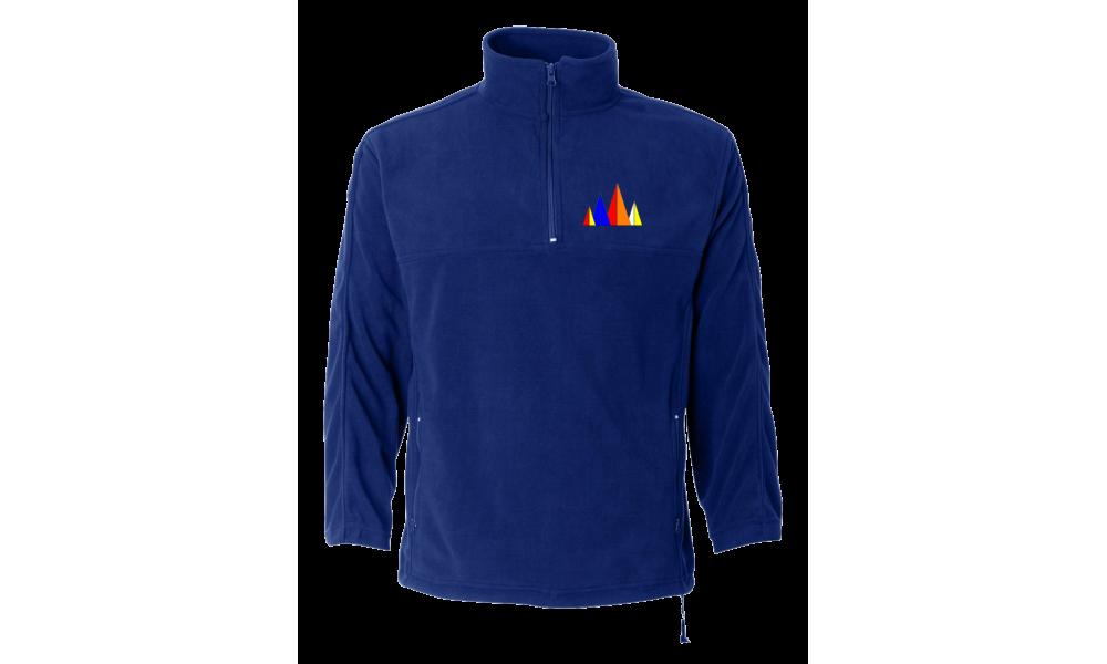 LMSA - FeatherLite - Microfleece Unisex Quarter-Zip Pullover