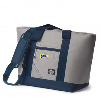 LMSA offer Silver Spinnaker Cooler Tote - PERSONALIZE FREE!