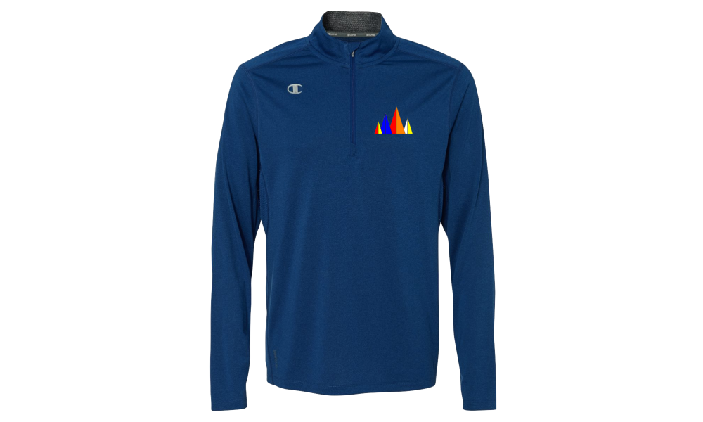 LMSA - Champion - Vapor Performance Heather Quarter-Zip Pullover
