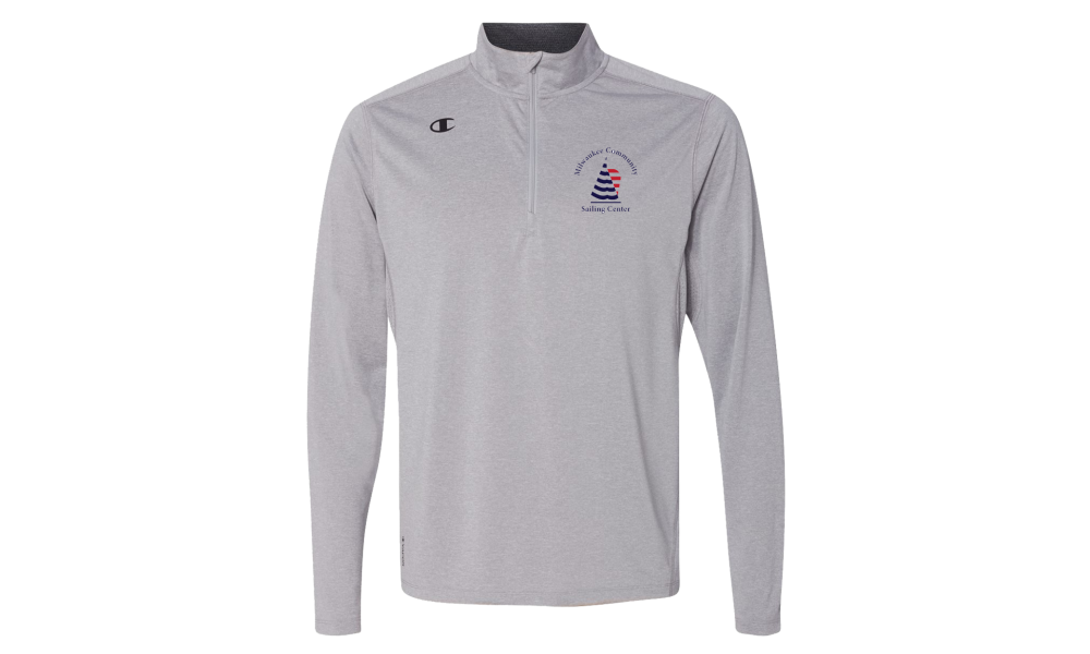 MCSC - Champion - Vapor Performance Heather Quarter-Zip Pullover