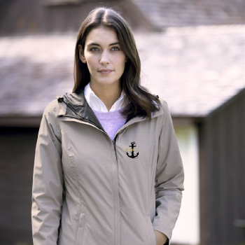 McBoat -  Ladies  Weatherproof Melange Rain Jacket