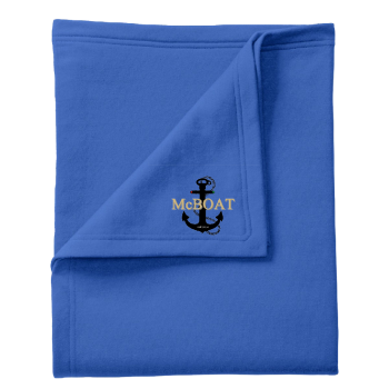 McBoat - Fleece Sweatshirt Blanket