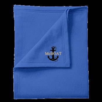 McBoat - Fleece Sweatshirt Blanket
