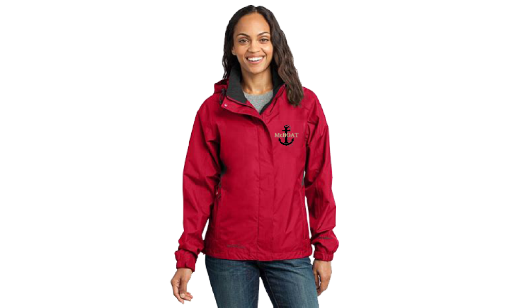McBoat -   Eddie Bauer Ladies Rain Jacket