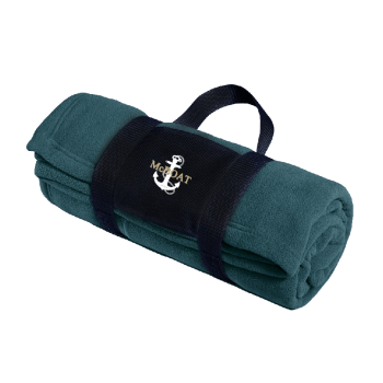 McBoat - Fleece Blanket with Carrying Strap