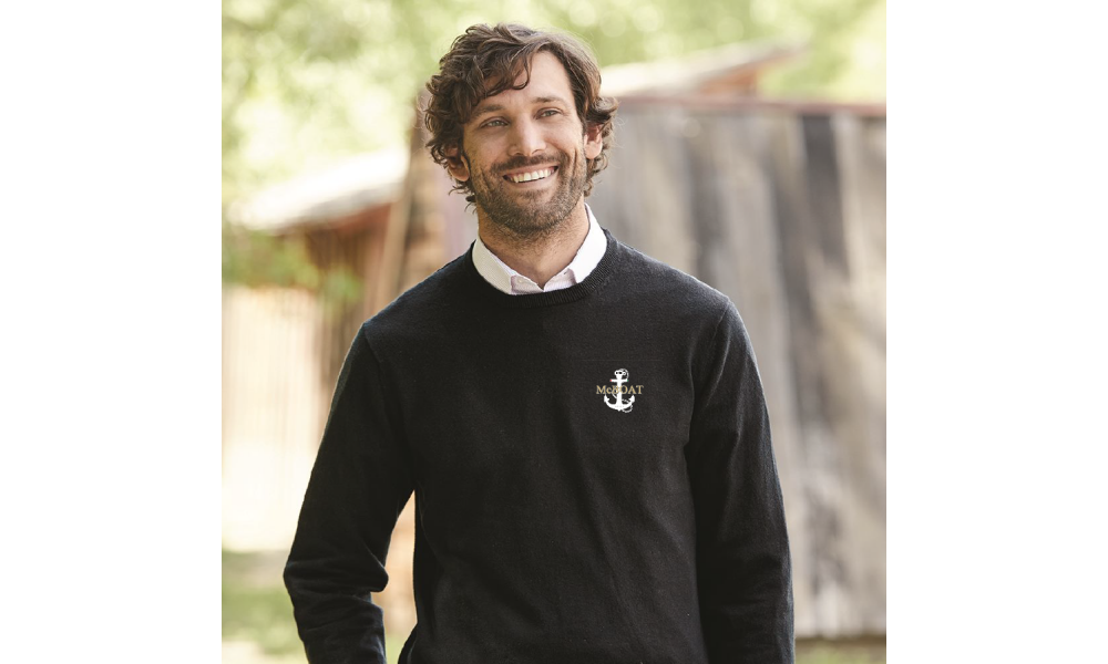 McBoat -  Weatherproof Vintage Cotton Cashmere Crewneck Sweater