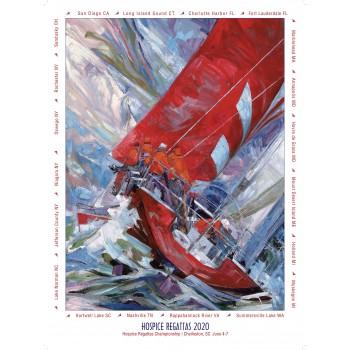 NHRA 2020 Willard Bond Poster