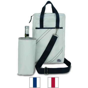 Newport Insulated Wine Tote (2-Bottle)