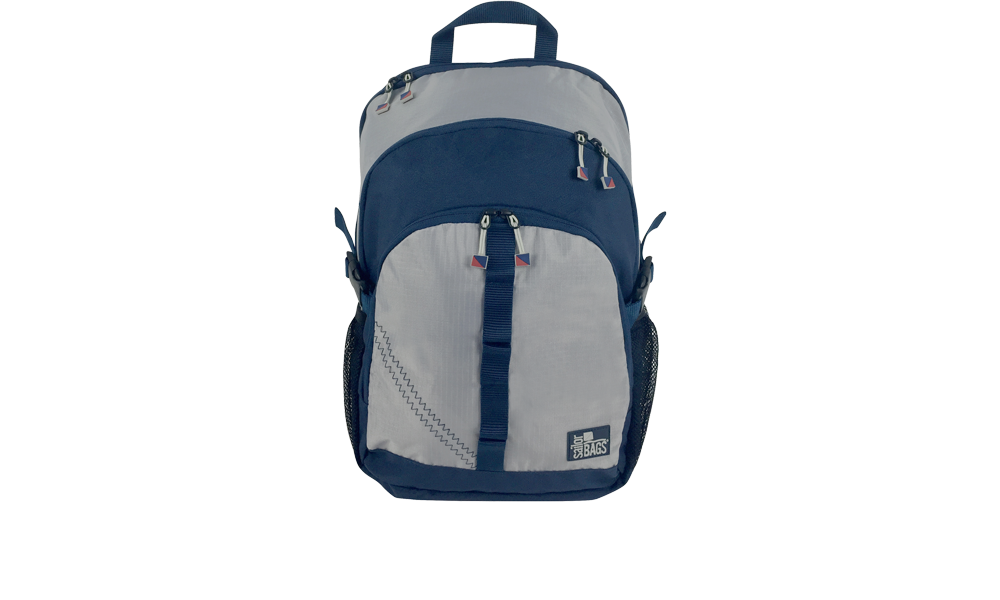 MCSC offer Silver Spinnaker Daypack - PERSONALIZE FREE!