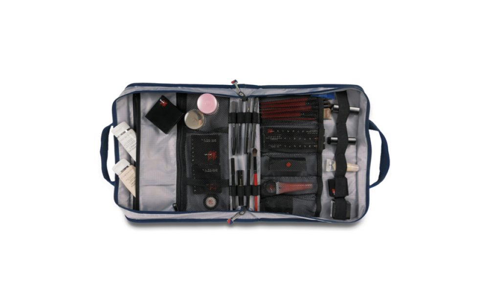 Silver Spinnaker Utility Case Cosmetics