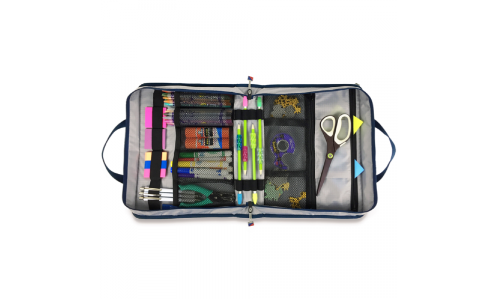 Silver Spinnaker Utility Case Craft Keeper