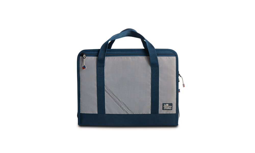 Silver Spinnaker Utility Case Front
