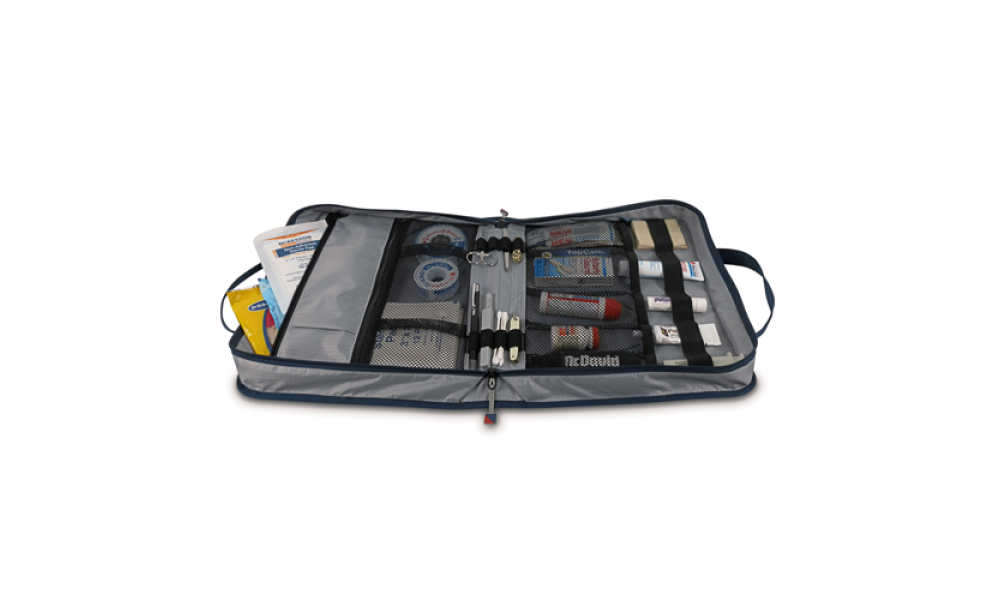 Silver Spinnaker Utility Case First Aid Side