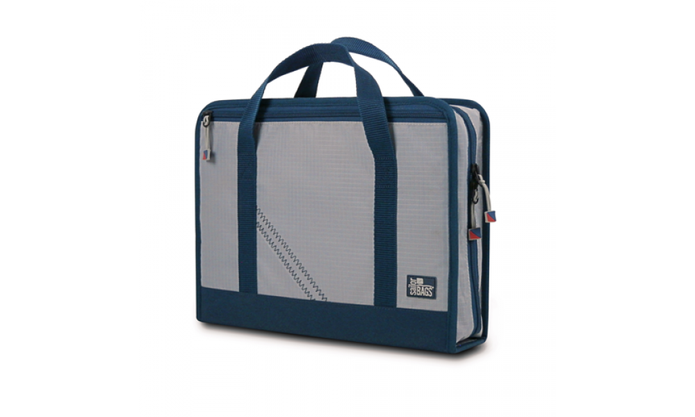Silver Spinnaker Utility Case Front Side