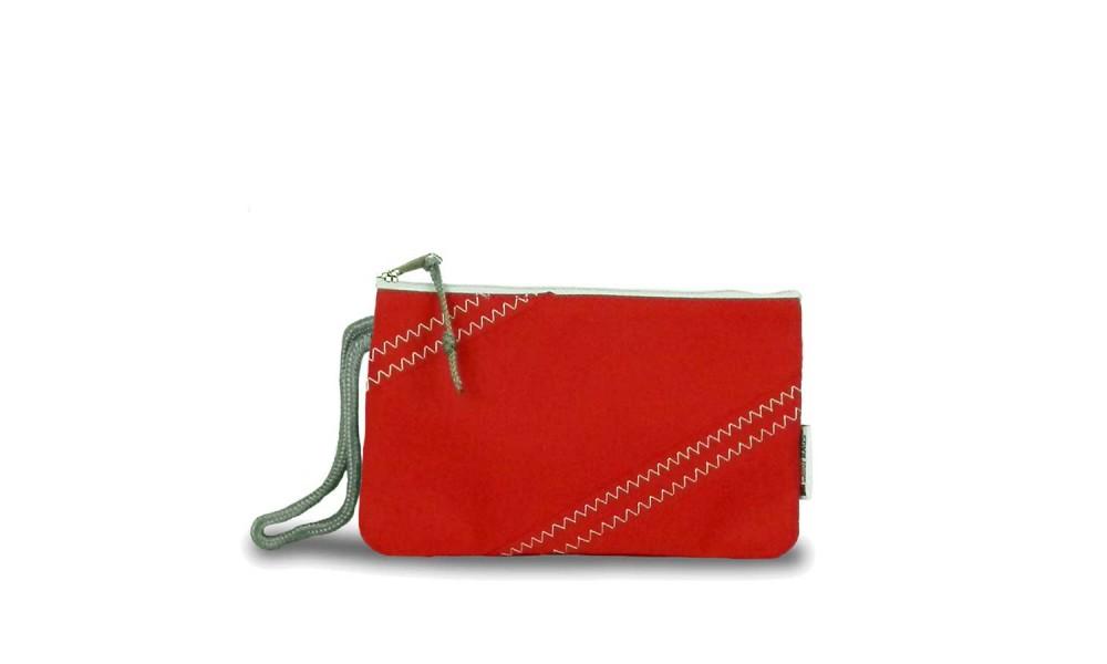 red chesapeake wristlet product image