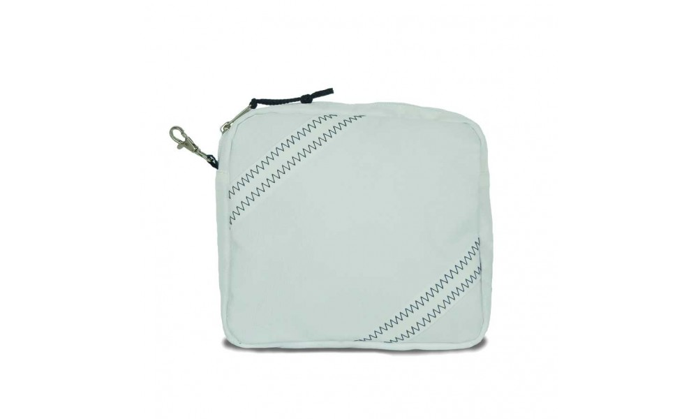 The Chesapeake Accessory Pouch comes in white.
