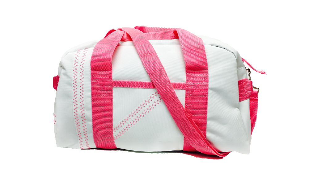 Cabana Square Duffel - Small in Pink