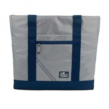 McBoat offer  Silver Spinnaker All-Day Tote - PERSONALIZE FREE!