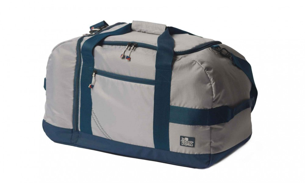 BoatUS offer  Silver Spinnaker Cruiser Duffel - PERSONALIZE FREE!