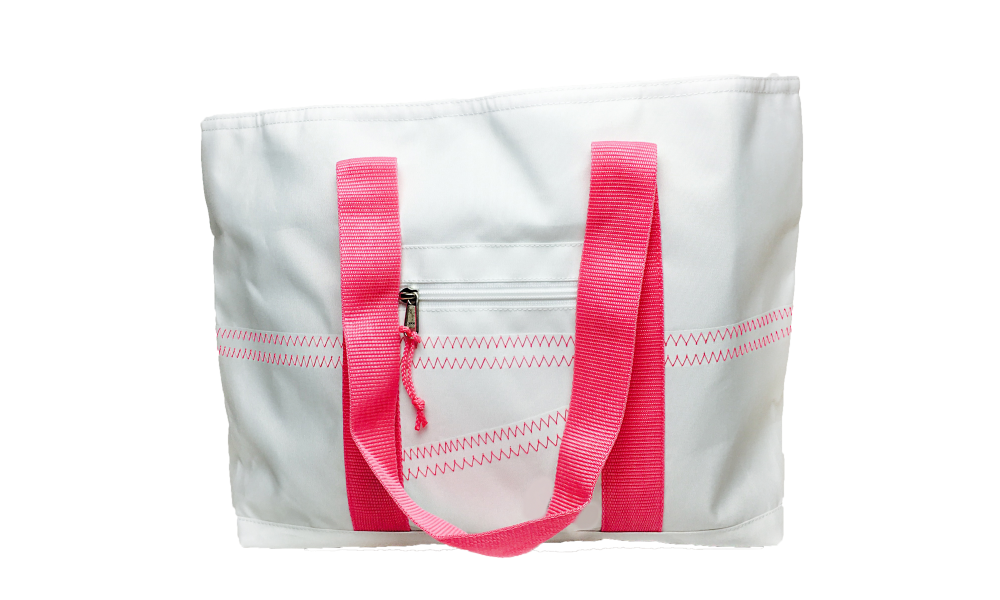 Cabana Tote - Medium in Pink