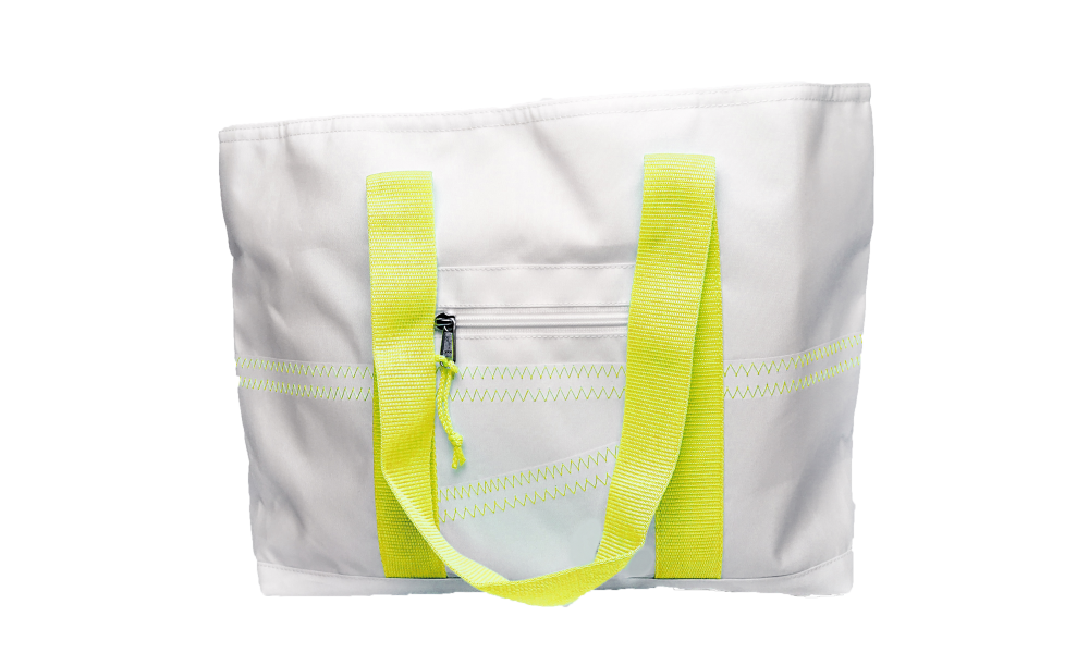 Cabana Tote - Medium in Yellow