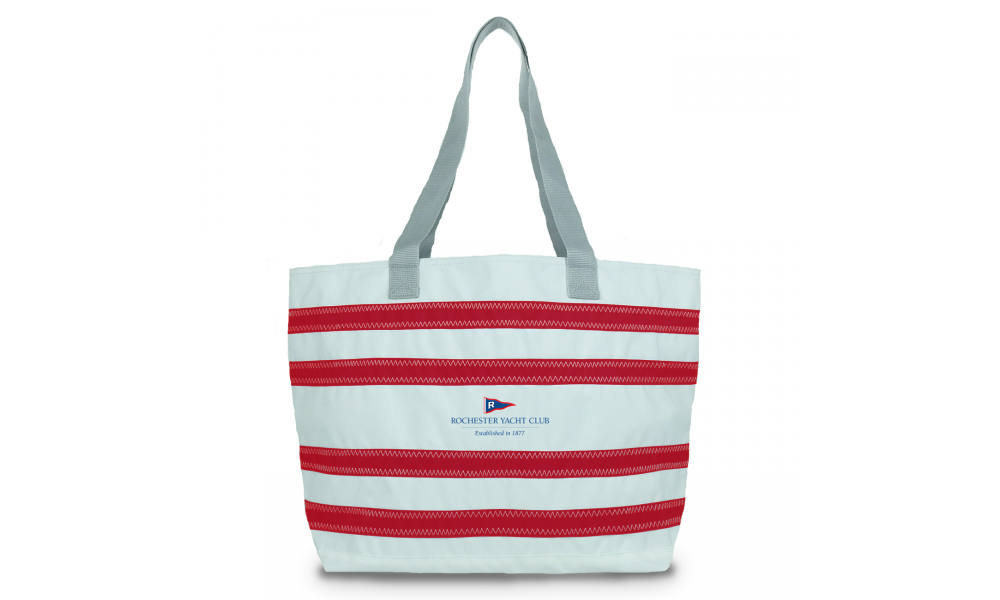 RYC offer  Nautical Stripe Large Tote - PERSONALIZE FREE!