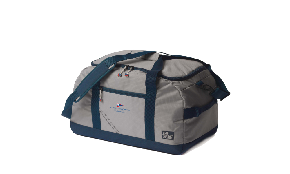 RYC offer  Silver Spinnaker Racer Duffel- PERSONALIZE FREE!