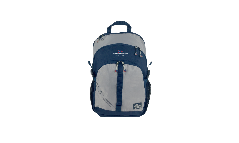 RYC offer Silver Spinnaker Daypack - PERSONALIZE FREE!