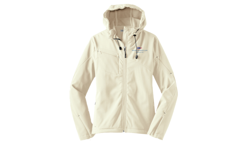 RYC  Ladies Textured Hooded Soft Shell Jacket