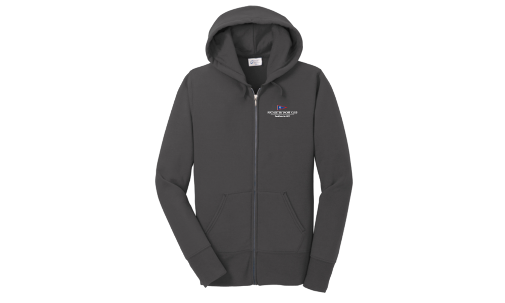 RYC  Ladies Core Fleece Full-Zip Hooded Sweatshirt