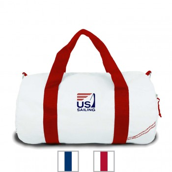 US Sailing Newport Round Duffel - PERSONALIZE  FREE!