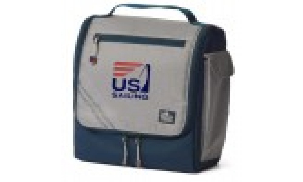 US Sailing Silver Spinnaker Soft Lunch Box - Personalize for FREE!