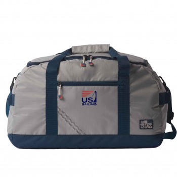 US Sailing Silver Spinnaker Racer Duffel - PERSONALIZE  FREE!