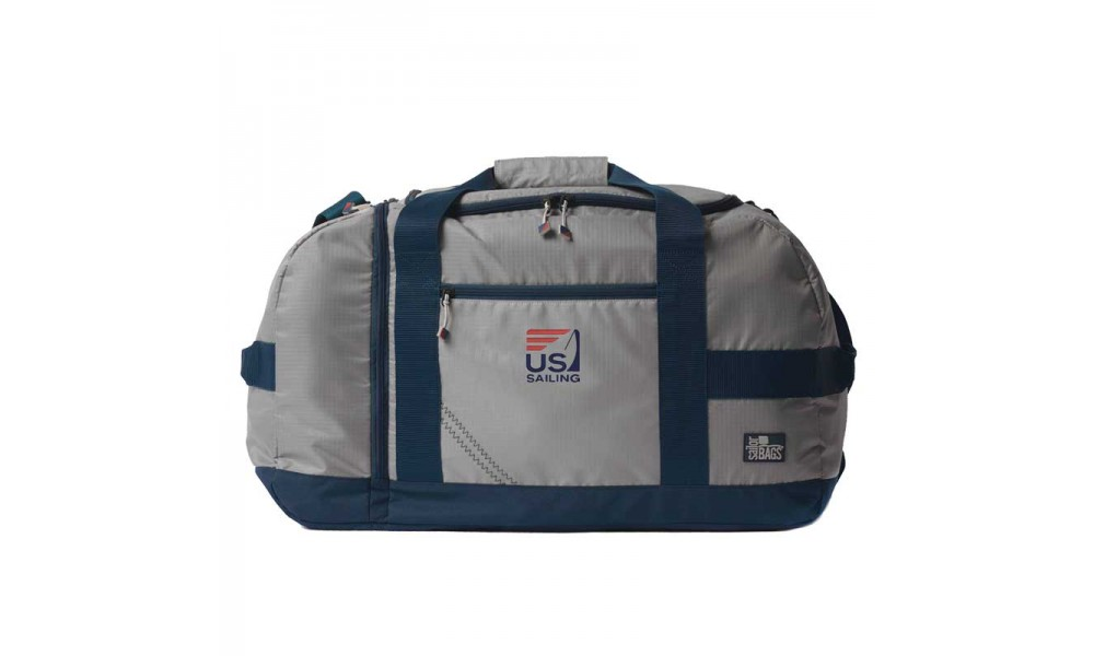 US Sailing Silver Spinnaker Cruiser Duffel - Personalize for FREE!