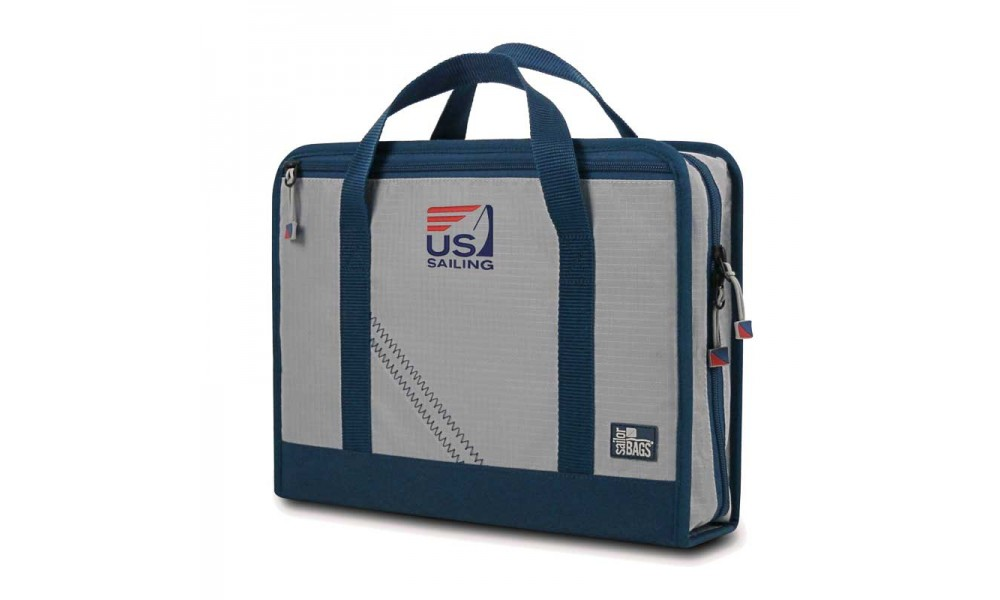 US Sailing Silver Spinnaker Utility Case - Personalize for FREE!