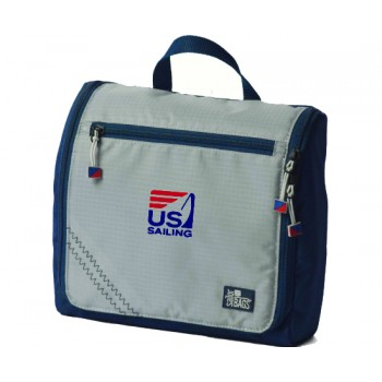 US SAILING  Silver Spinnaker Sundry Bag- PERSONALIZE FREE!