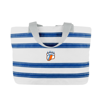 USCGA  offer  -  Nautical Stripe Medium Tote- PERSONALIZE FREE!