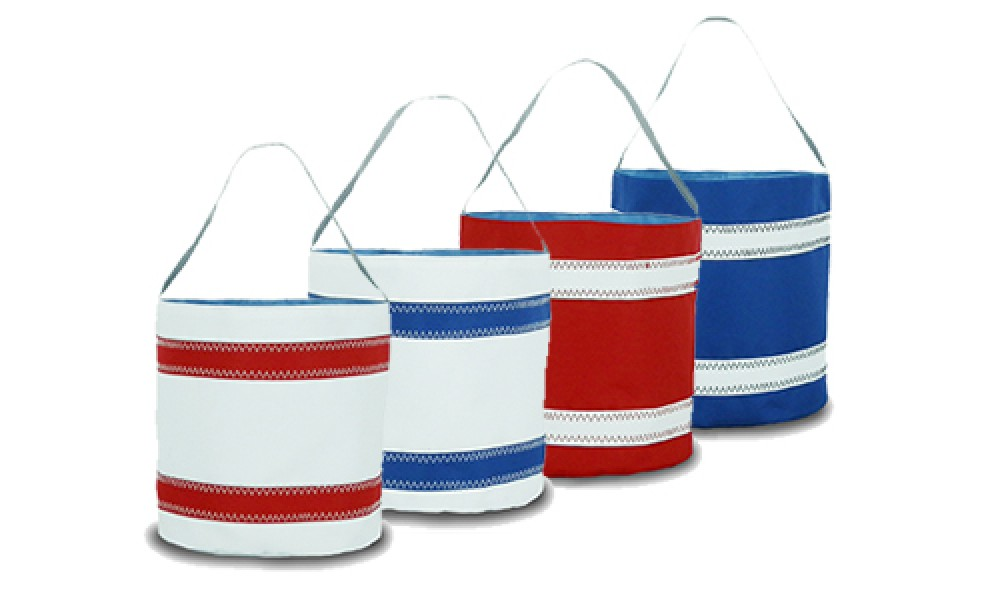 Nautical Stripe Bucket Bag various colors