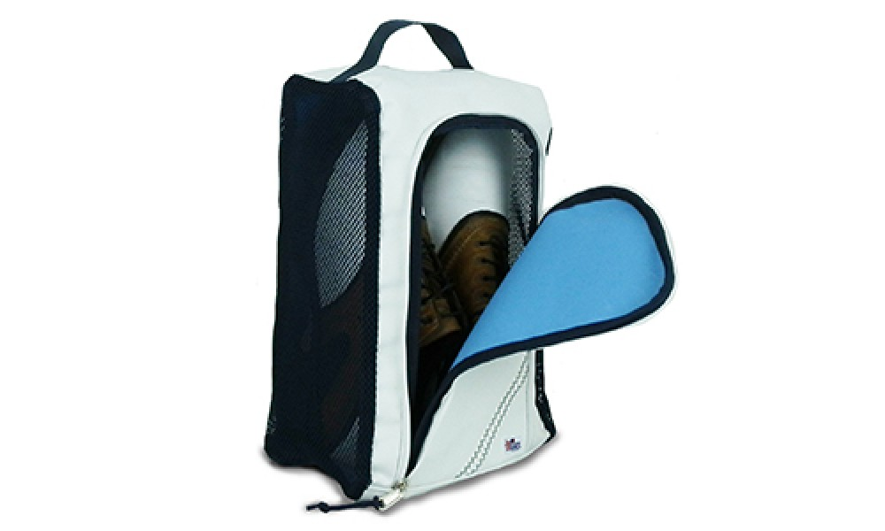 Newport Shoe Bag flap open