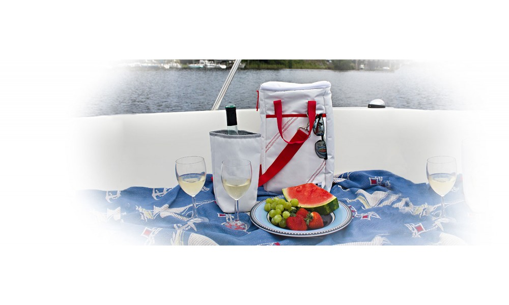 Aquarius Sport - Newport Insulated Wine Tote (2-Bottle) - Personalize FREE!