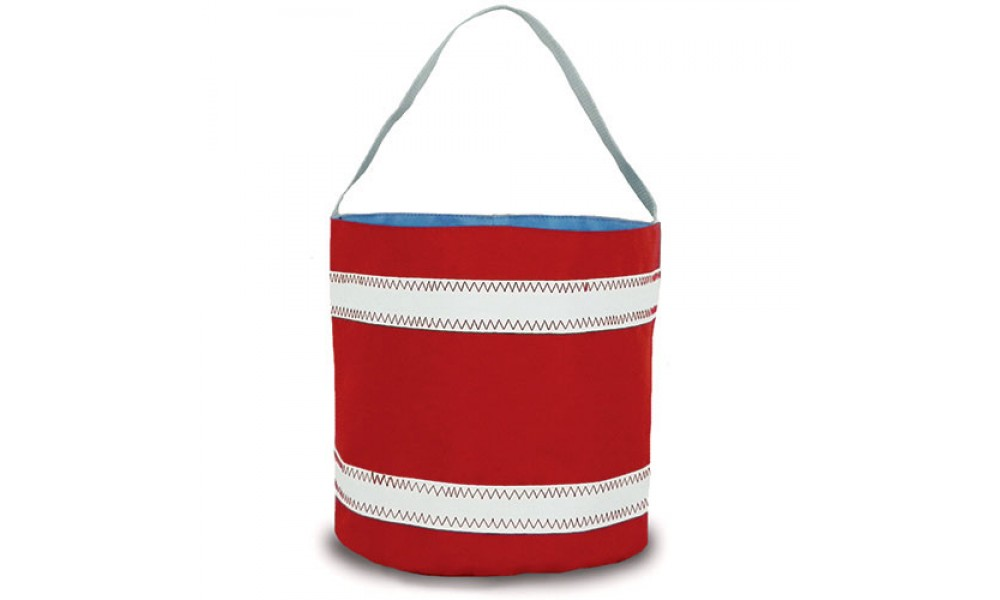 BoatUS offer  Nautical Stripe Bucket Bag - PERSONALIZE FREE!
