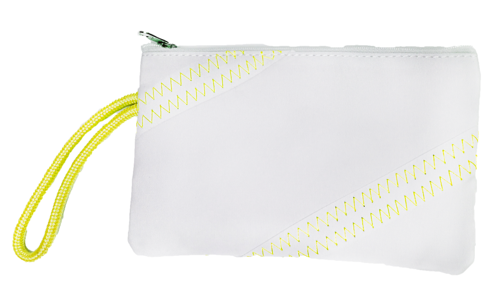 Cabana Wristlet in Yellow