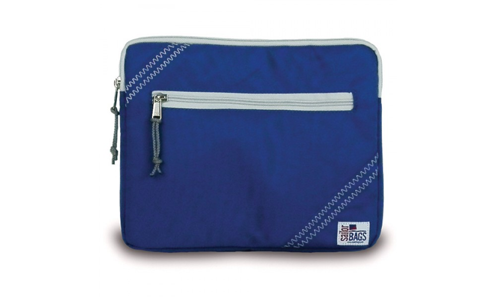 nautical blue Chesapeake tablet case sleeve