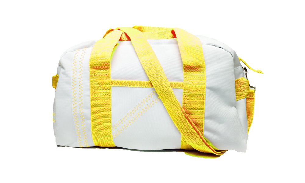 Cabana Square Duffel - Small in Yellow