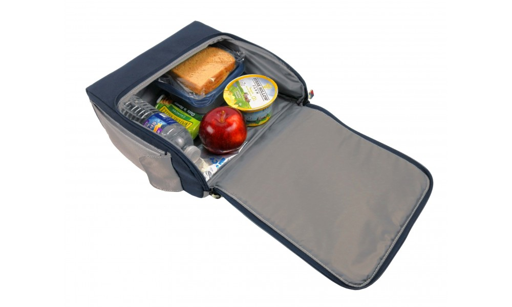 SBJSA offer  Silver Spinnaker Soft Lunch Box - PERSONALIZE FREE!