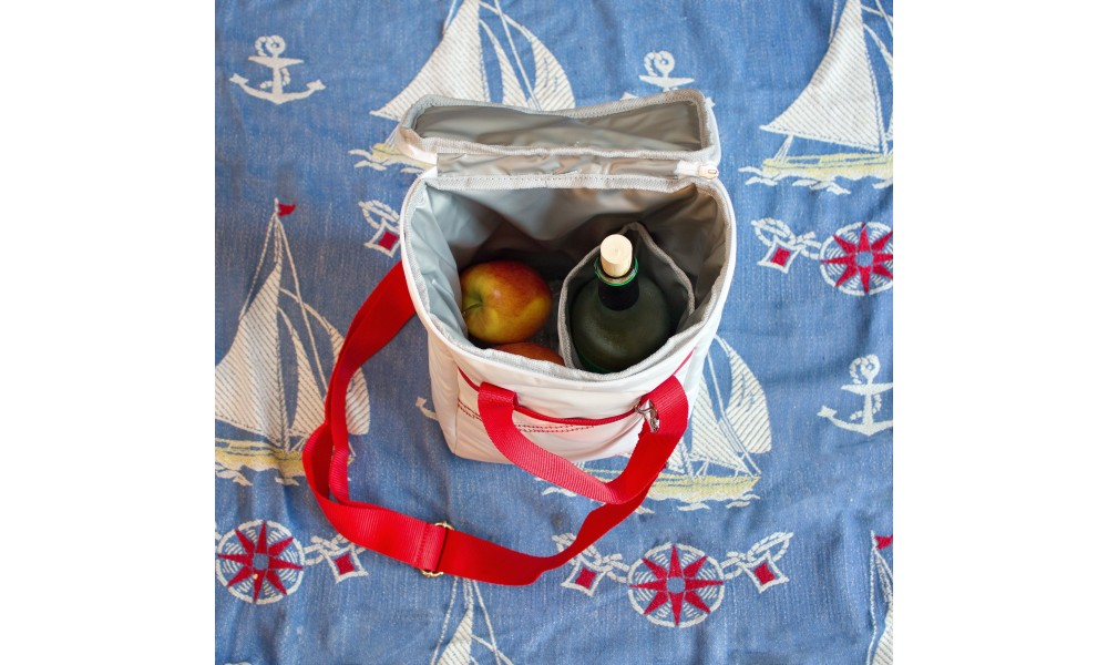 McBoat Newport Insulated Wine Tote (2-Bottle) - Personalize for FREE!